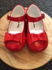 Early Steps Bow Shoes in Red