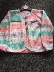 Multi-Cardigan Size 3/4 Years