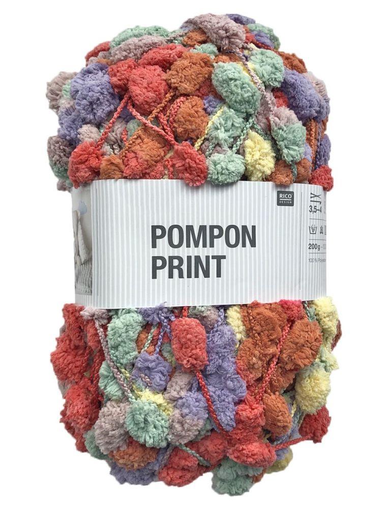 PomPon PrintBrand Name Rico Yarn Name Creative Pompon Print Man. Part Code