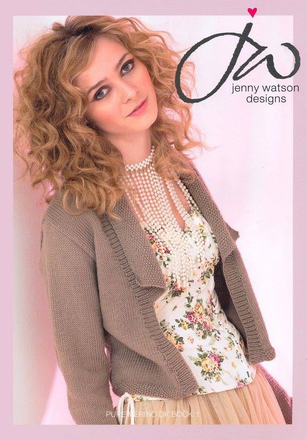 Jenny Watson Pure Merino DK Book 1
