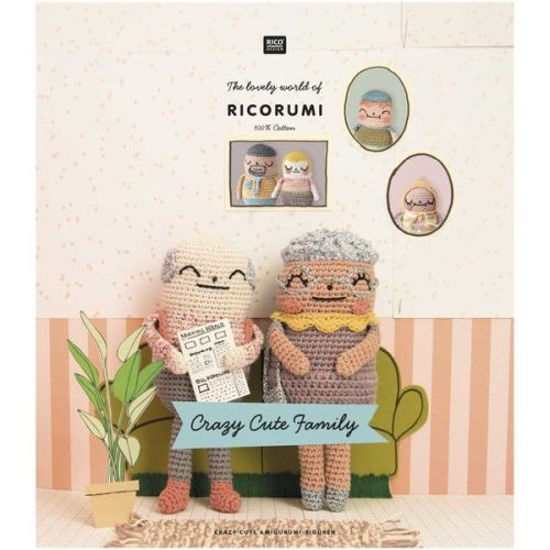 Ricorumi Crazy Cute Family (Booklet)