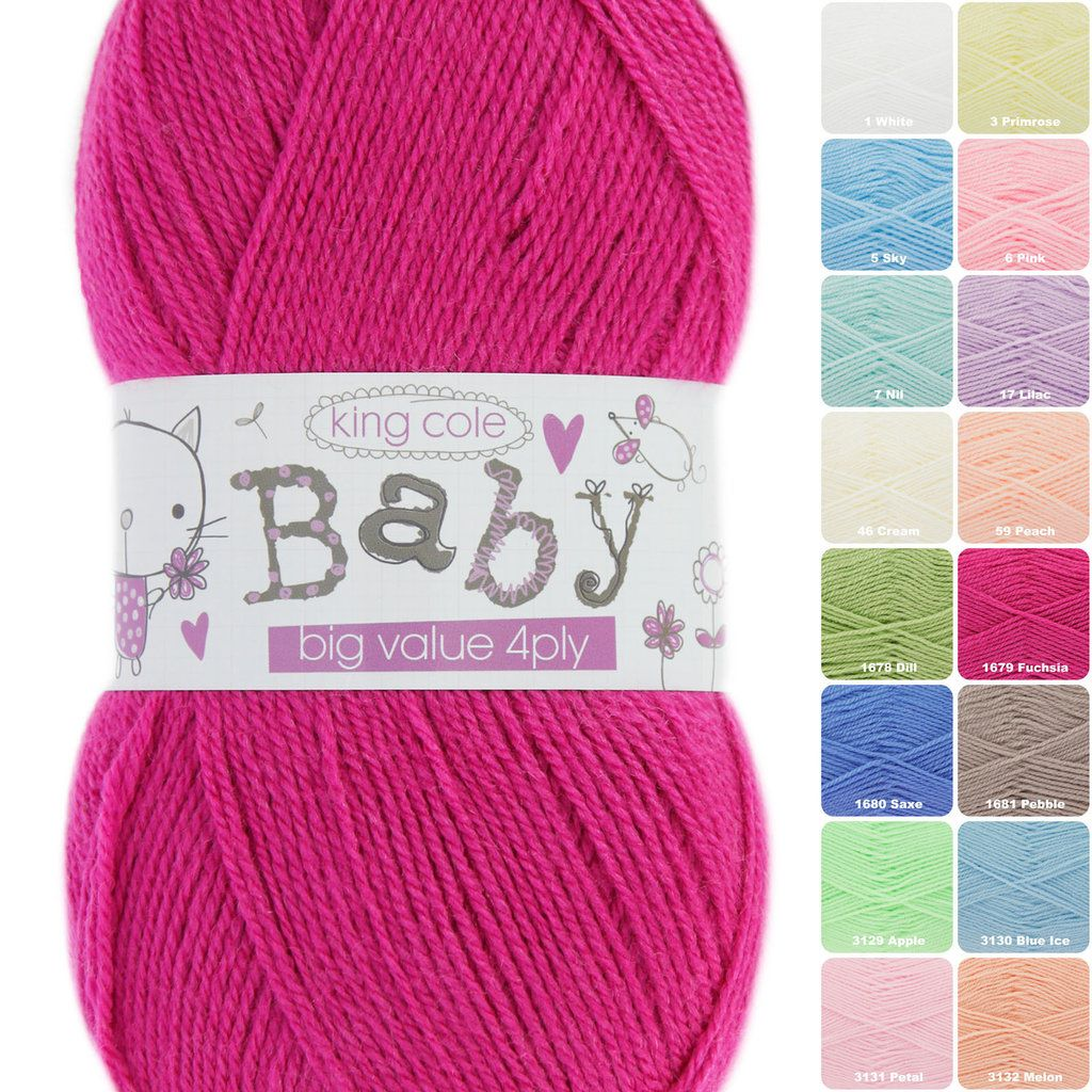 Big Value Baby 4ply