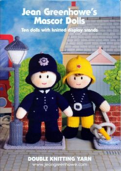 Mascot Dolls with Display Stands Booklet