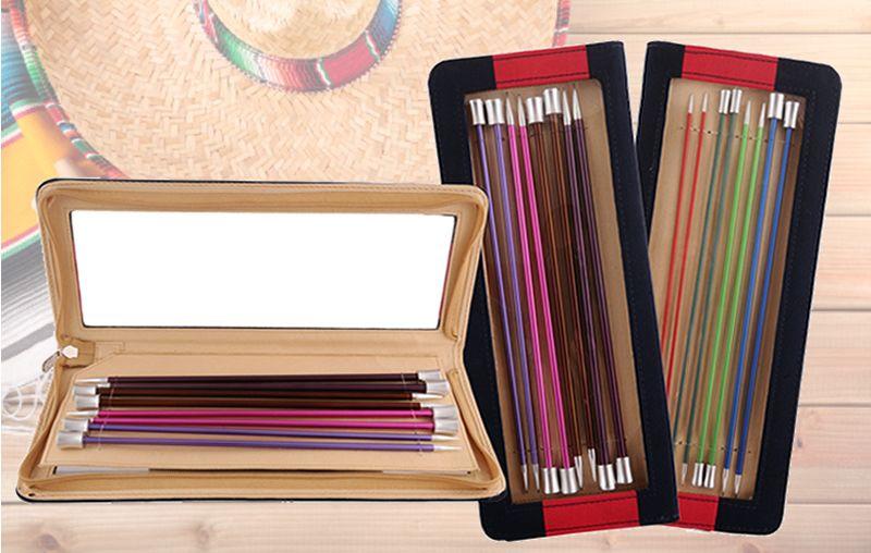 Knit-Pro Zing Single Pointed Needle Set