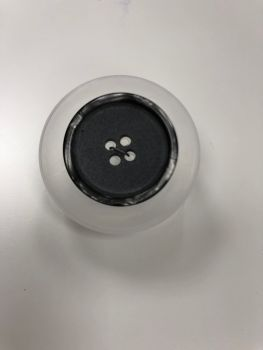 Bonfanti Grey Matte Buttons