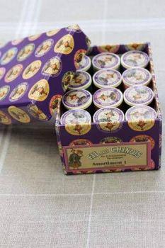 12 Spool Gift Pack. Assortment 1-Dark Tones