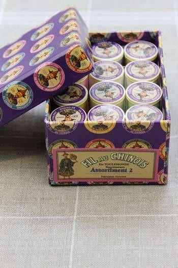 12 Spool Gift Pack. Assortment 2-Pastel Tones