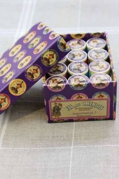 12 Spool Gift Pack. Assortment 3 -Vintage Tones.