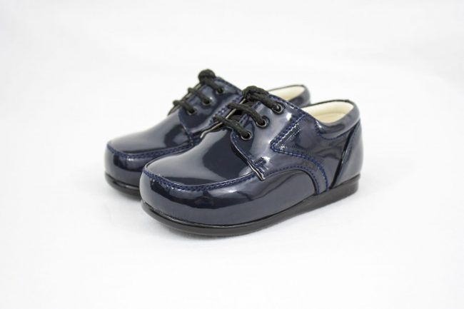 Early Steps Royal Shoes in Navy