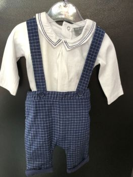 Rock-a-Bye baby Checked Trouser Set