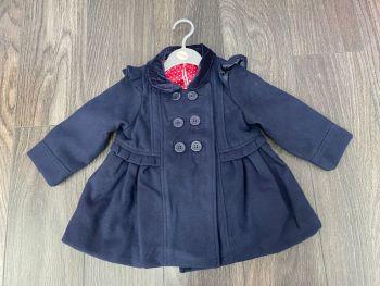 Chloe Louise Navy Coat