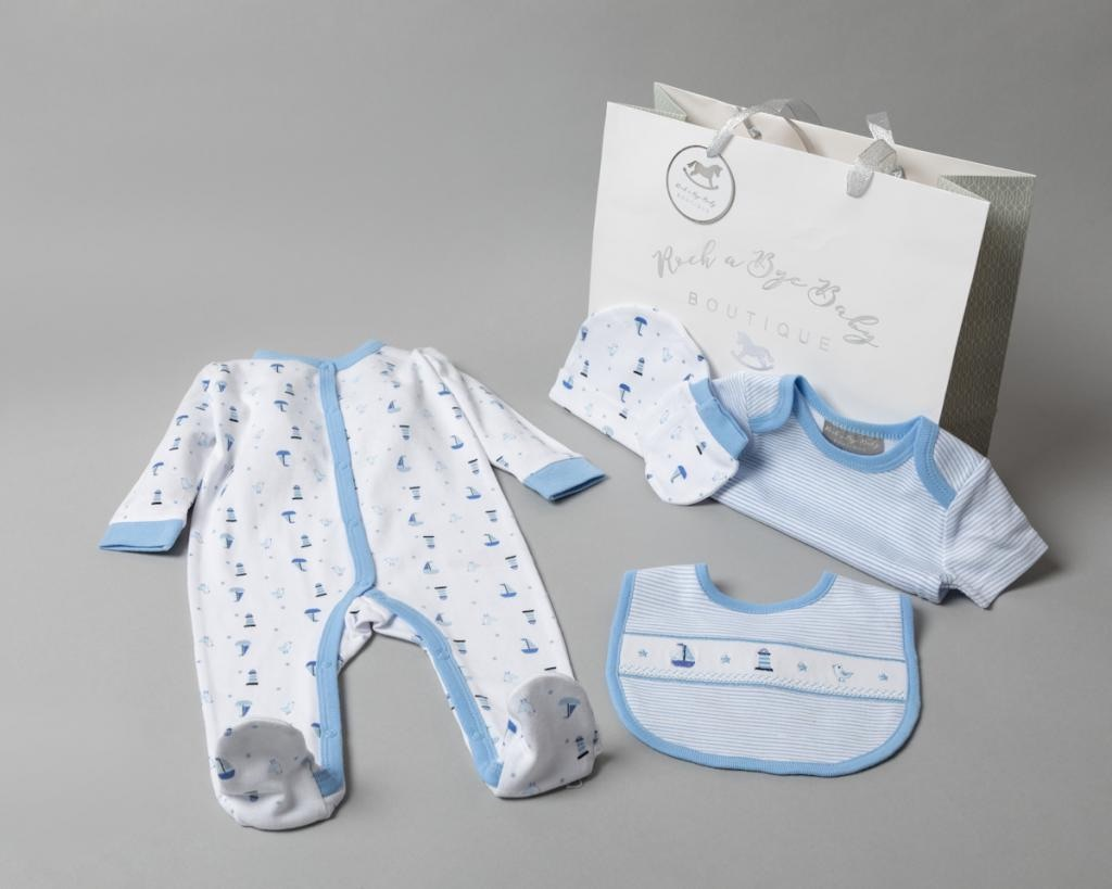 Seaside 5 Piece Set with Gift Bag.