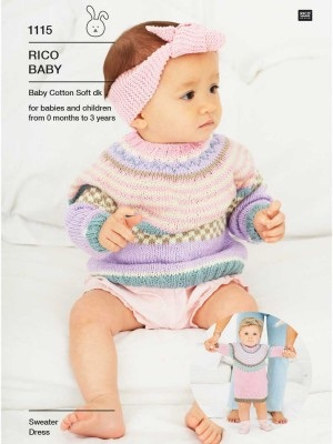 Rico Compact knitting 1115 (Leaflet)