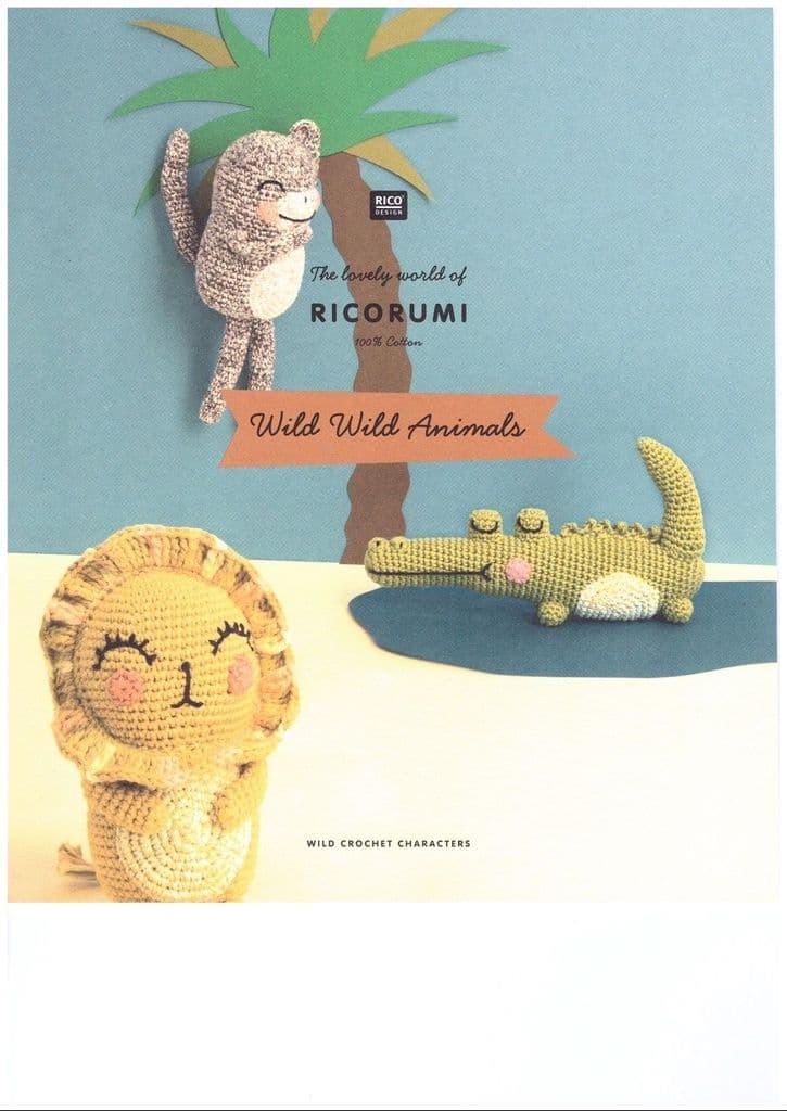 Ricorumi Wild Wild Animals Booklet