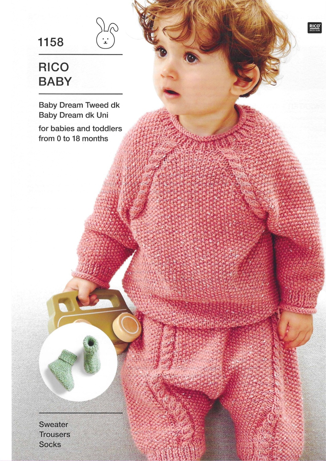 Rico Compact Knitting 1158 (Leaflet)