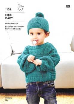 Rico Compact knitting 1154 (Leaflet)