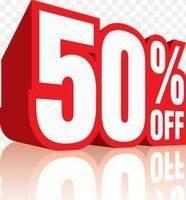 Sale upto 50% Off.