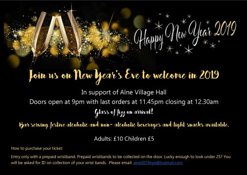 New Year flyer 2018