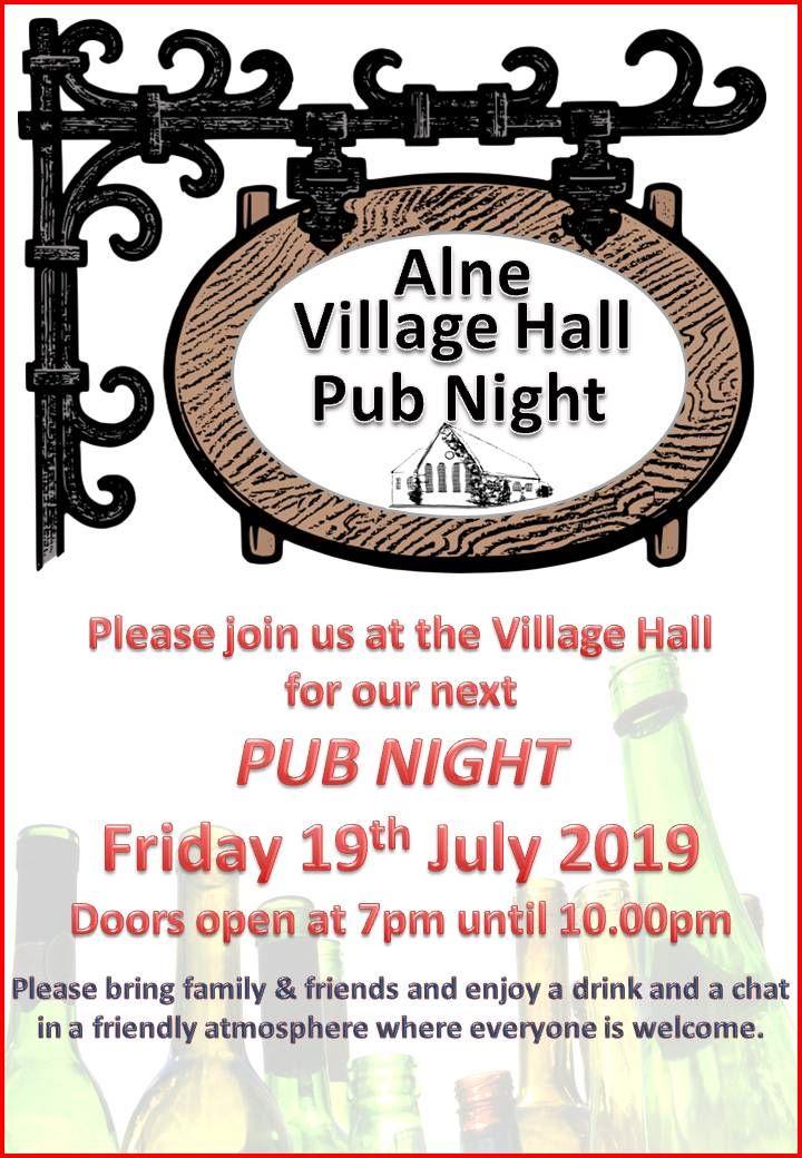 2019.07.19 Pub night
