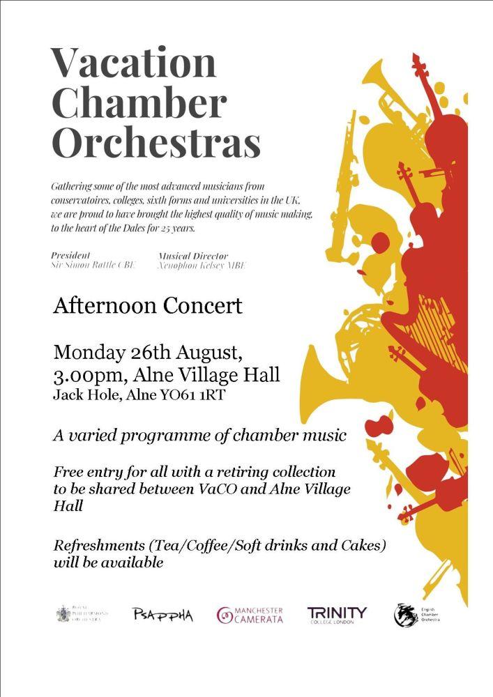 2019.08.26 VaCO concert flyer