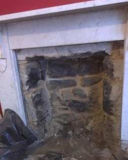 PZ removal of fire place