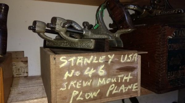 Stanley USA no 46 skew mouth lplow plane