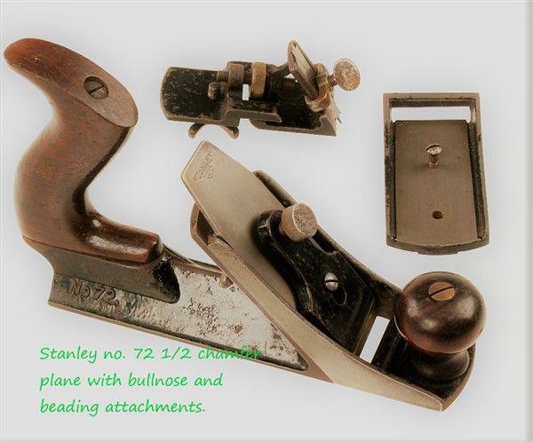Stanley 72 chamfer plane