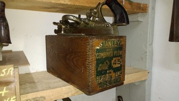 Stanley USA no 45 combination plow plane