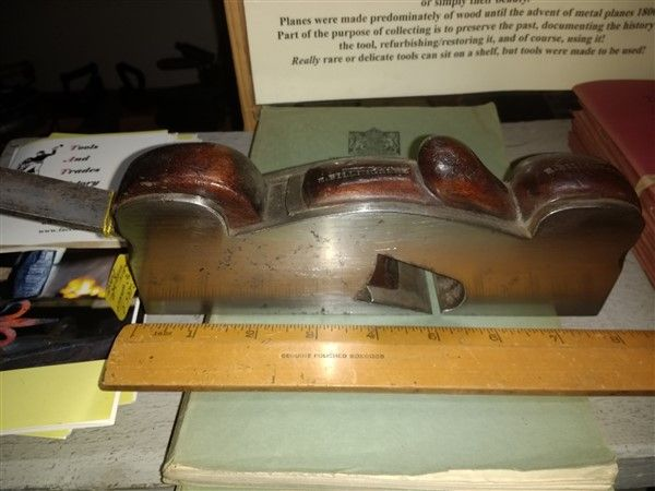 Steel infill shoulder plane