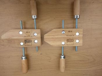 """Bessey 6"""" parallel jaw wooden clamps"""