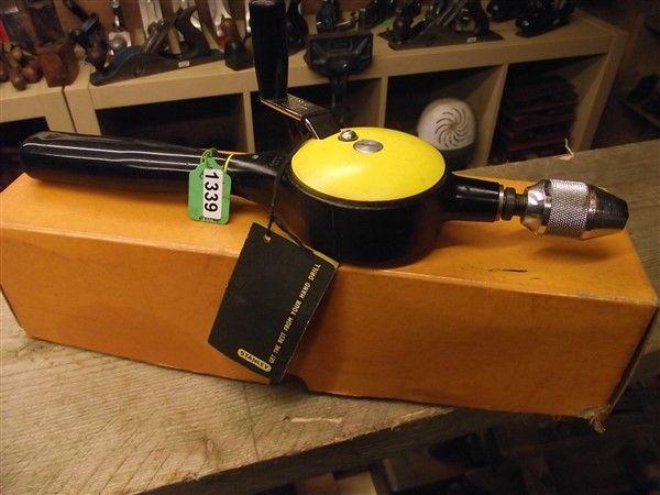 Hand drill - Stanley 5803