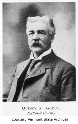 Quimby Silas Backus