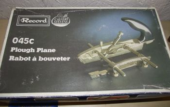 Plough plane - Record 045C Calvert Stevens