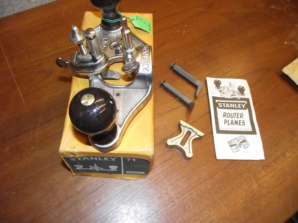 Hand router -Stanley England no 71