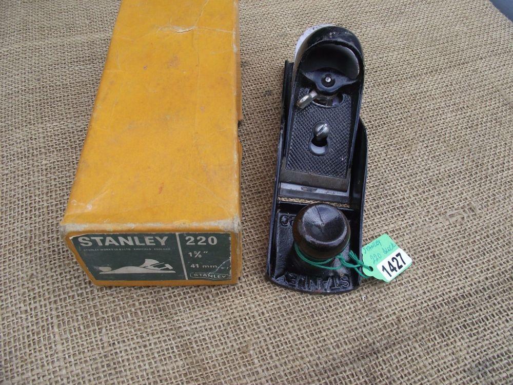Block plane - Stanley Eng 220