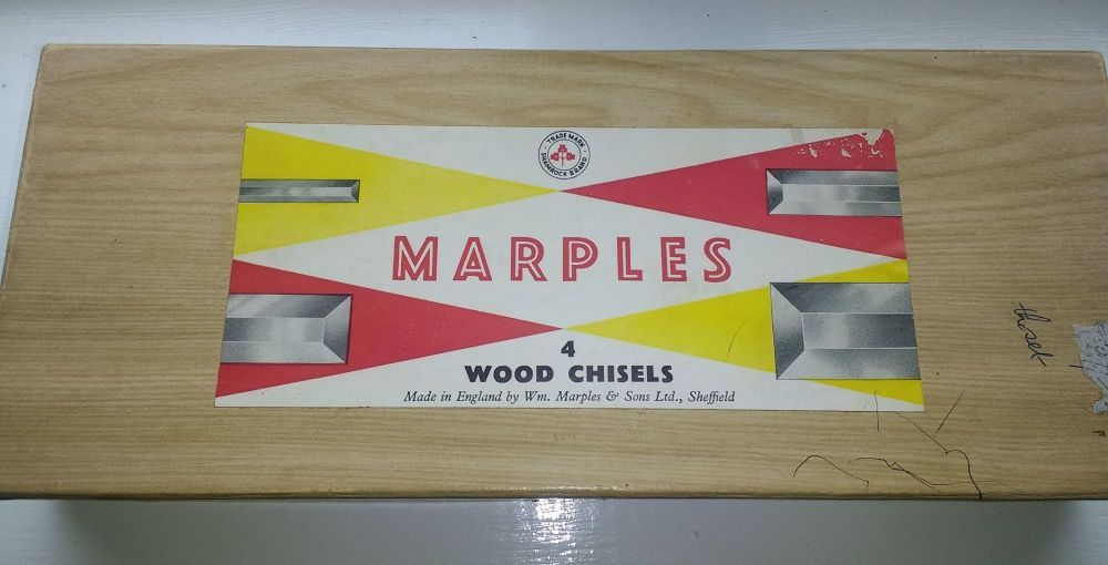 Chisel set - Marples