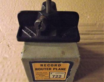 Router plane - Record 722