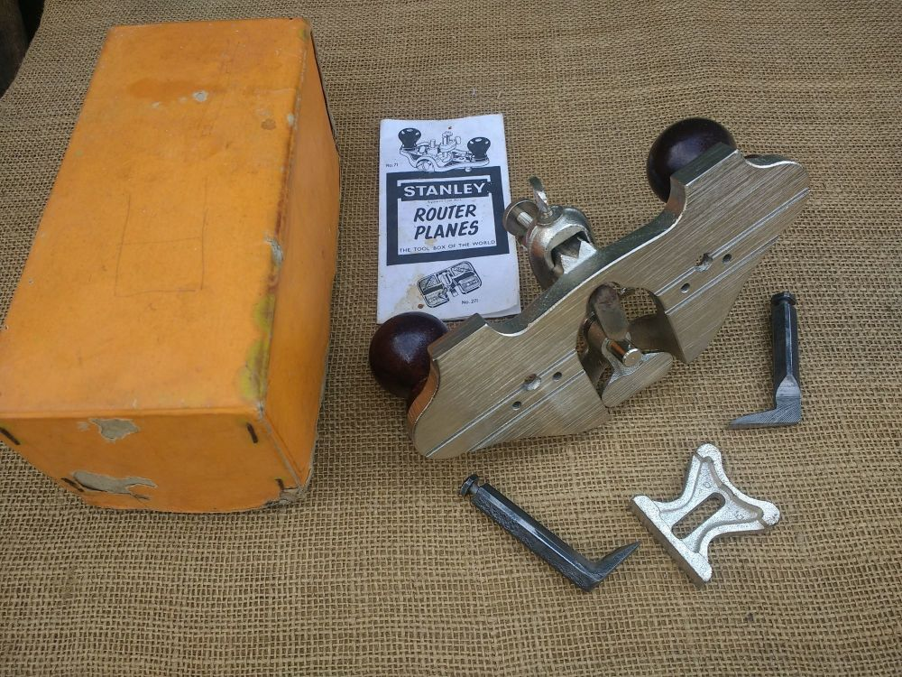 Router plane -Stanley England no 71