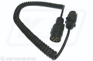 VLC2280 - CABLE COILED WI H TWO 7 PIN PLUG