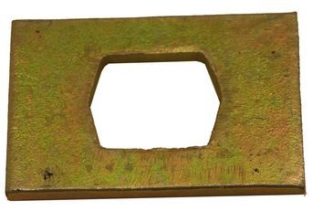 2093 - Flail Plate 4 x 4 inch