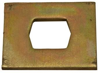 2123 - Flail Plate 4 x 3 inch