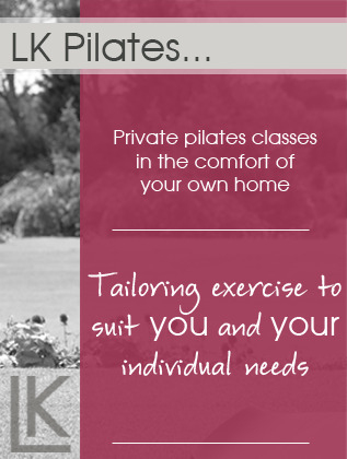 LK Pilates - Home Page Banner Left
