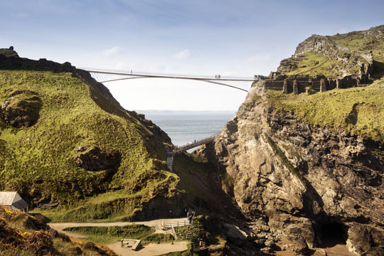 Tintagel bridge concept design winner tin