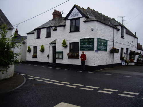 The White Hart Inn St Teath - local pub