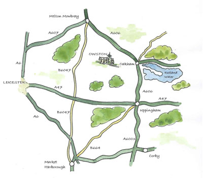 Owston map
