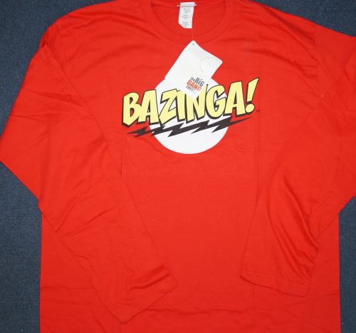 New Product 12 big bang long sleeved t shirts £2.50