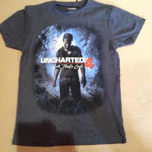 New Product 12 mens uncharted 4 t shirts