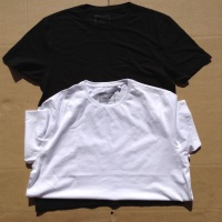 12 mens x top store plain t shirts mixed black and white