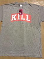 50 grey killbrand t shirts just 50P each SUMMER SALe .s,m,l,xl.