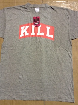 50 grey killbrand t shirts just £1.25 each